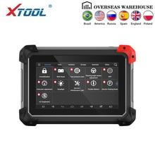 XTOOL herramienta de diagnóstico EZ400pro OBD2 escáner lector de código automotriz probador programador de llaves ABS Airbag SAS EPB DPF funciones de aceite