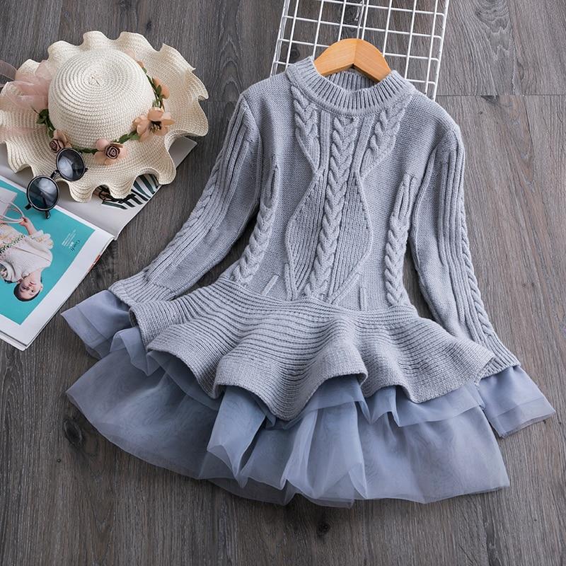 H9b1c1e746336405faf251f25c64470eaX Petals Designs Girl Dress Children Party Costume Kids Formal Events Vestidos Infant Tutu Flower Dress Fluffy Wedding Gown 3 5 7T