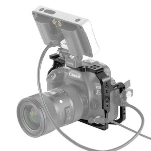 Image 4 - SmallRig Protective Cage for Canon 5D Mark III IV Camera With Bulit in NATO Rails Arca Swiss Plate   2271