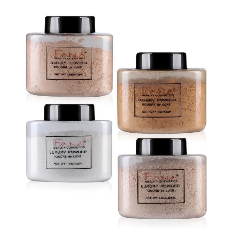 Banana Powder Long-lasting Oil Control Face Brighten Smooth Loose Powder Makeup Concealer Setting Powder TSLM2