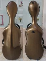 Best coffee carbon fiber composite material cello case 4/4 MA