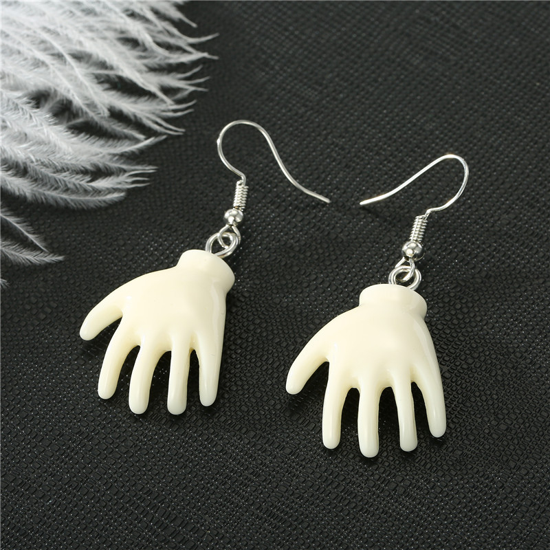 Baby Face & Hand Earrings 2
