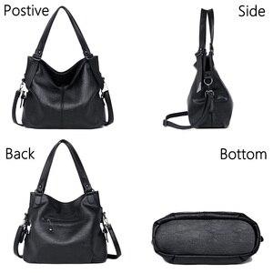 Image 4 - 2020 популярная роскошная сумка, женские сумки, высокое качество, кожаные сумки через плечо, женская сумка тоут, большая емкость, женская сумка на плечо, Sac A Main