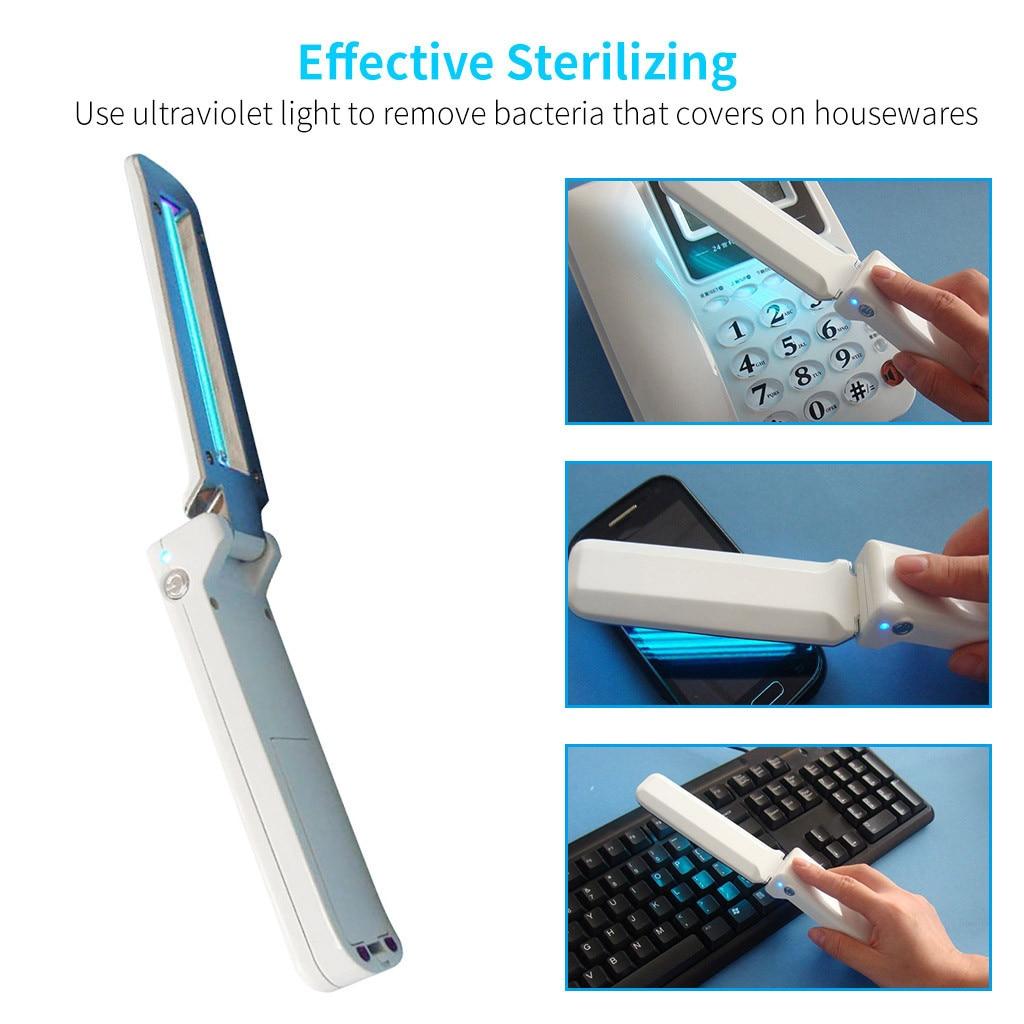 Keyboard - Portable Handheld 2W UV Disinfecting Sterilizing Germicidal Lamp Wand