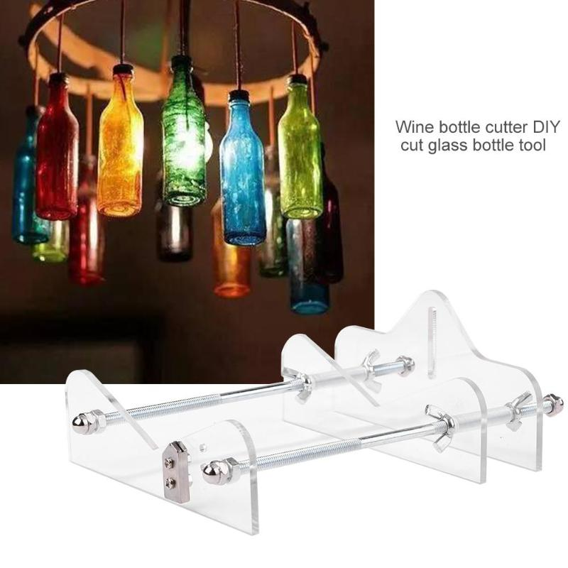 Professional Manual Bottle Glass Cutter Cutting Wheel Metal Handle Head Machine Beautifully Designed Safe And Durable