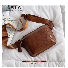 купить ISXTW Waist Bag Female Belt New Brand Fashion Waterproof Chest Handbag Unisex Fanny Pack Ladies Waist Pack Belly Bags Purse /E1 онлайн