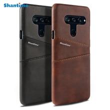 For LG V40 ThinQ Business Phone Case For LG V10 V20 V30 Leather Wallet Case For LG G5 G6 Luxury Case все цены