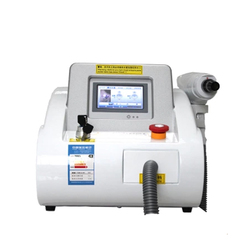 Equipamento do salão de beleza da remoção da sobrancelha do laser do nd yag do interruptor q/1064nm 532nm 1320nm máquina do laser do sistema da remoção da tatuagem