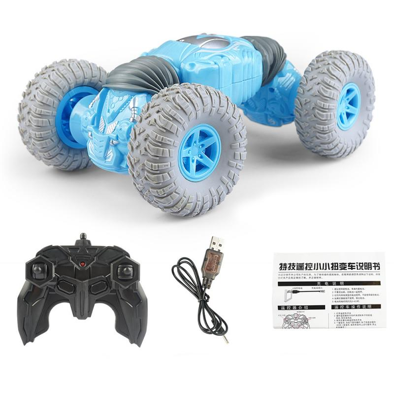 Remote Control Stunt Car Twisting Off-Road Vehicle Remote Control   Drift Dancing Side Driving Toy Gift For Children Xmas Gfit
