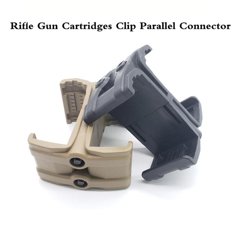 1pcs Water Hunt Accessories Universal Clip Parallel Device Outdoor Cs For 5.56x45mm 30/40 Magazine Round M4 Mag595