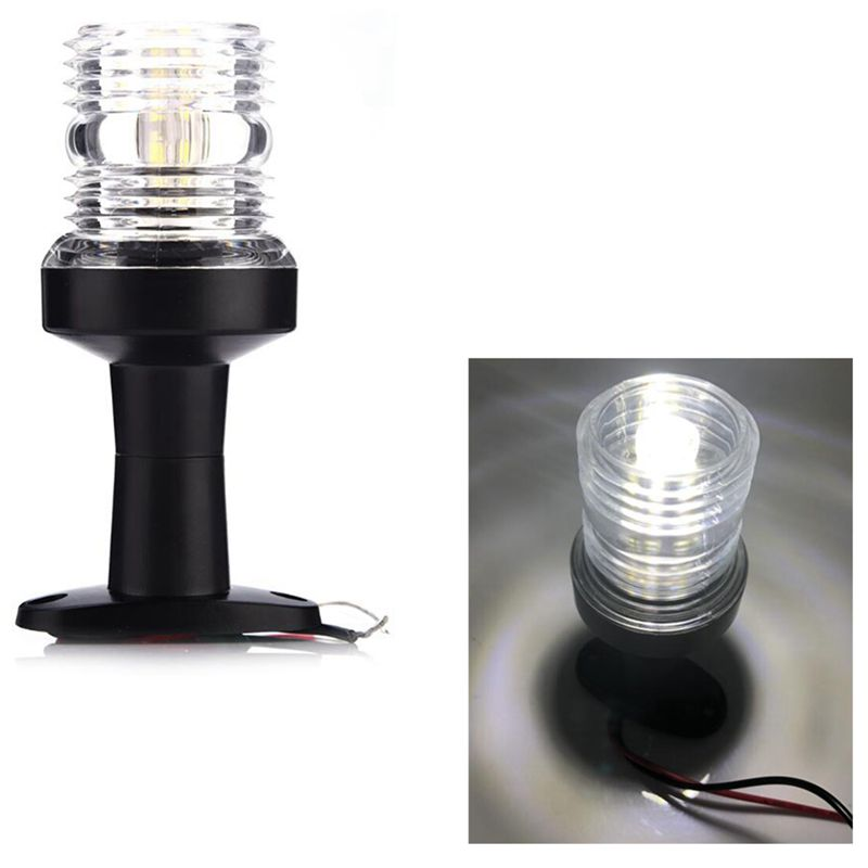 Marine Boat Yacht Stern Anchor Led Navigation All Round 360 White Bright Light