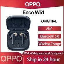 OPPO Enco W51 TWS Kopfhörer Bluetooth 5,0 Drahtlose Kopfhörer Active Noise Reduction Für Reno 4 SE Pro 3 Finden X2 pro ACE 2