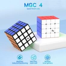 [Picube] Yj Mgc 4X4 Speed Magic Cube Puzzel Cubo Magico Educatief Speelgoed Voor Kinderen Geschenken-stickerloze/Zwart Yongjun Mgc 4*4*4