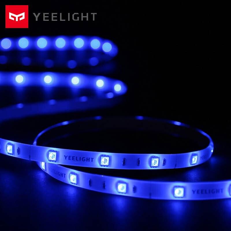 Yeelight Smart LED bande colorée 16 millions de couleurs lumière ambiante bande RGB bande lumières avec APP commande vocale longueur 2m
