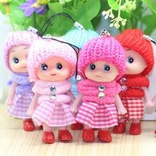 Encantadores juguetes para niños suaves interactivos muñecas Mini muñeca para niñas y niños muñecas y juguetes de peluche colgantes elfo en el estante