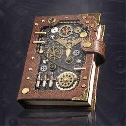 Steampunk Gear Retro Notebook Artwork Level Handmade Exquisite Novelty Gift D08A