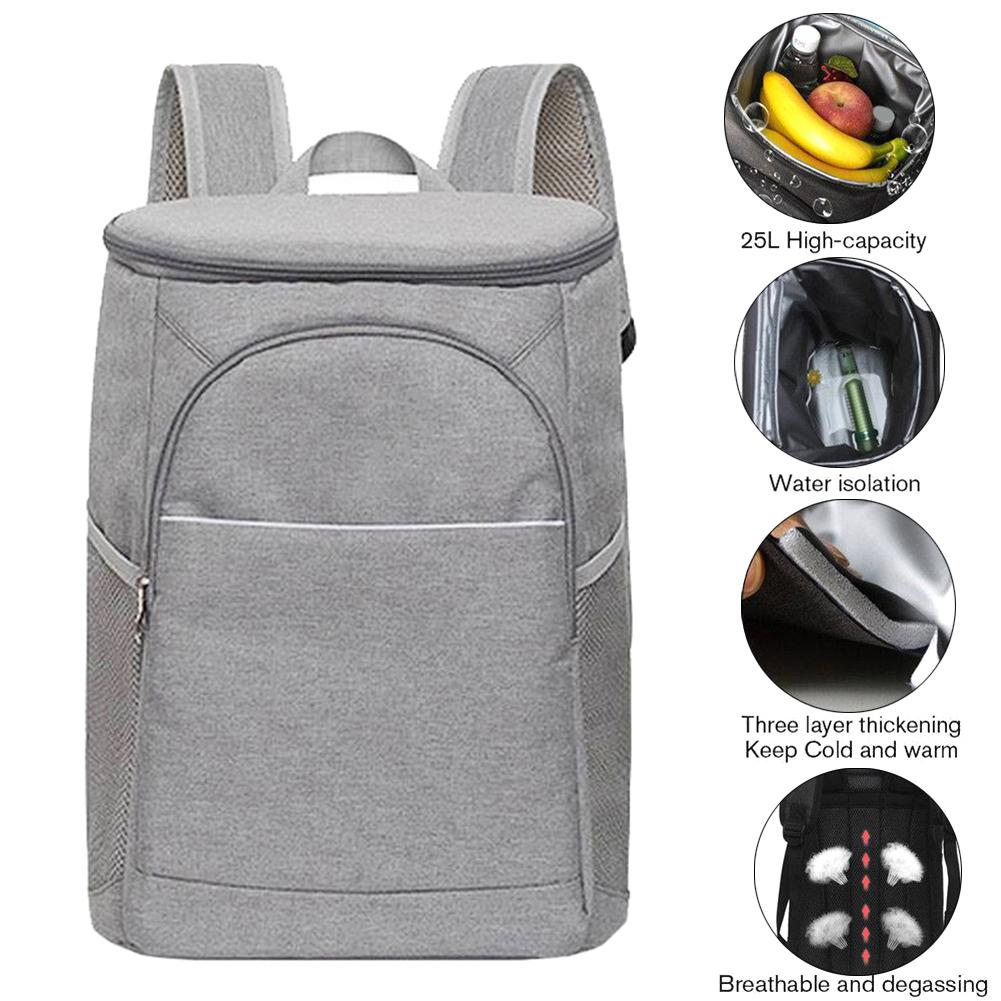 18L DENUONISS Cooler Insulated Lunch Box Bag Portable Storage Picnic Bag Pack