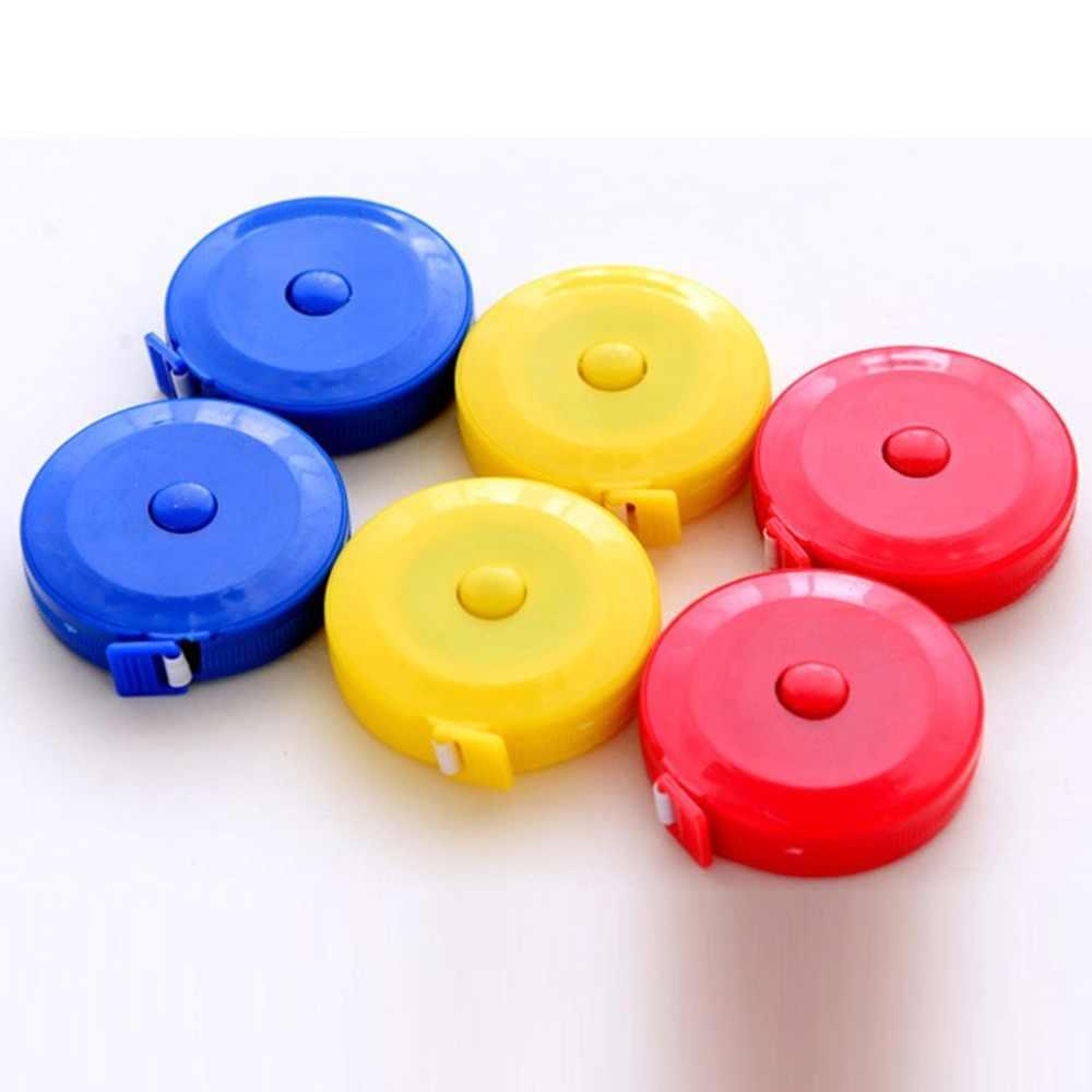 Medidor régua automática retrátil fita métrica fita de medição de fita de plástico de múltiplos propósitos pequena fita