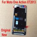 100% Originele Getest Glas Sensor Voor Motorola Moto Een Action XT2013 6.3 LCD Touch Panel Display Screen Digitizer Vergadering