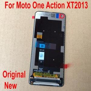 """Image 2 - 100% oryginalne testowany szkła czujnik dla Motorola Moto jedno działanie XT2013 P50 6.3 """"panel wyświetlacza dotykowego lcd ekran Digitizer zgromadzenia"""