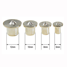 4pcs Woodworking Log Locator Dowel Furniture Positioning Tools Tenon Top Logs Wooden Pin Center Punch Accessories DB05005