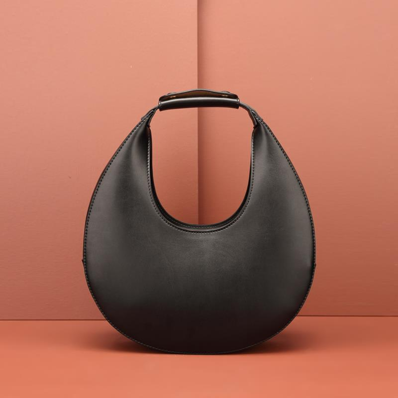 European and American fashion niche design catwalk moon bag 2019 new personality wild simple arc handbag Clutches  - AliExpress