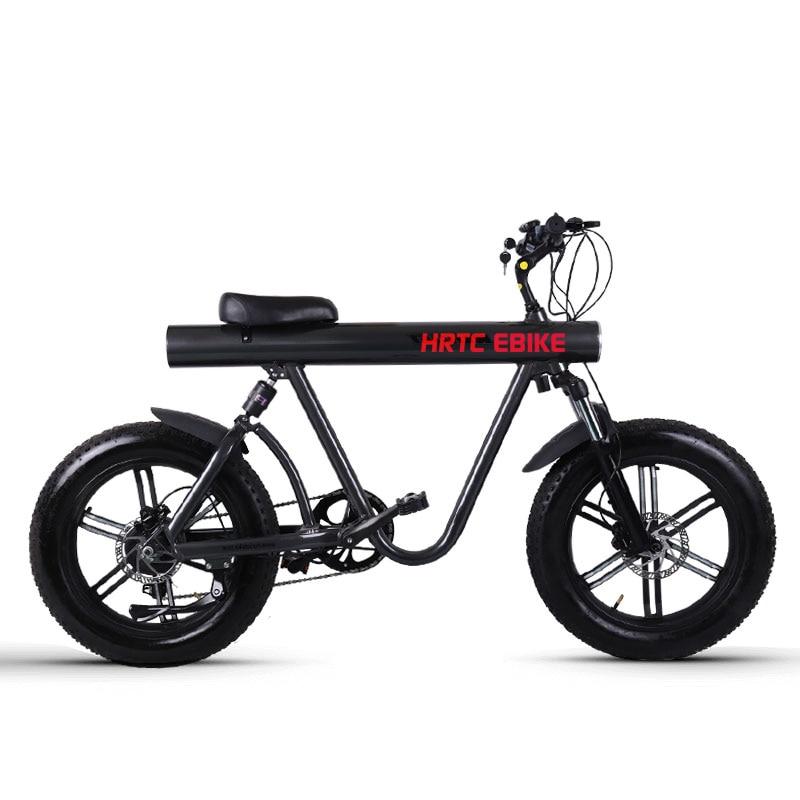 20 inch electric snow font b bike b font bafang 750w high speed motor 48V lithium