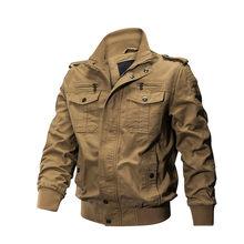 Veste militaire tactique hommes tactique hiver pilote veste armée coton manteau automne mode décontracté Cargo Slim Fit vêtements randonnée