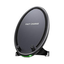 цены Fast Wireless Charger, Qi Wireless Charging Pad Stand With Cooling Fan For Galaxy S8/S8 Plus/S7/S7 Edge/S6 Edge Plus/Note 5, Sta