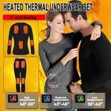 Мужская мотоциклетная куртка с подогревом комплект теплого термобелья