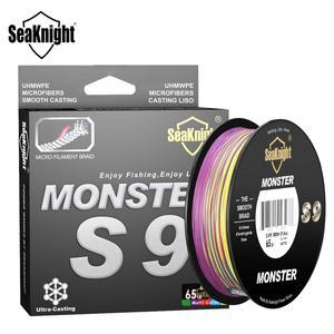 Image 5 - SeaKnight Brand S9 Series 300M 500M PE Fishing Line 9 Strand Reverse Spiral Tech Multifilament Strong Carp Fishing Line 20 100LB