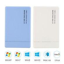 Portable Mini Alliage daluminium 2,5 Pouces USB3.0 vers SATA HDD Bo/îtier Adaptateur SSD 3 to Bo/îtier de Disque Dur Bo/îte de Disque Dur Externe