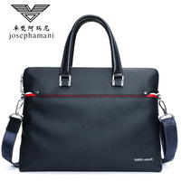 Business briefcase handbag men genuine leather shoulder bag High end JOSEPHAMANI Brand New Head layer cow messenger bag