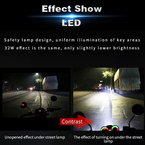 Image 5 - Motorcycle H4 Led Headlight 12V HS1 H4 BA20D Moto Bulbs 4000lm Super Bright White Motorbike Head Lamp Scooter Accessories Moto