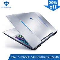 Machenike T90-TB1 gaming laptop (Intel Core i7-9750H+GTX 1650/8GB RAM/512G SSD/15.6'' ) Machenike-brande notebook