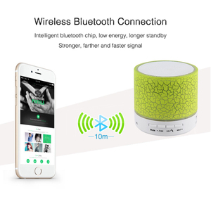 Image 2 - HLTON LED אלחוטי Bluetooth רמקול מיני מוסיקלי אודיו סאב TF USB רדיו FM רמקול עם מיקרופון עבור טלפון MP3