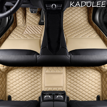 Tappetino per auto personalizzato KADULEE per Landrover Evoque RANGE ROVER Velar Discovery 3/4/5 Freelander 2 Discovery Sport Double foot mat
