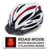 Victgoal capacetes de bicicleta led das mulheres dos homens esportes polarizados óculos de sol luz traseira mtb mountain road ciclismo capacetes 13