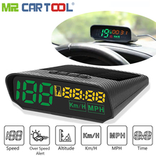 Hud Obd2 Head Up Display Auto GPS Tacho auf board Computer 5 V/12 V OBD II USB MPH KM Alarm Verbrauch Daten Diagnose