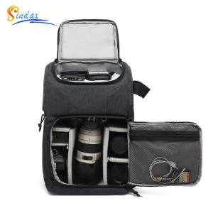 Backpack Pouch Camera-Bag Tripod-Lens Laptop DSLR Sony Nikon Travel Xiaomi Waterproof