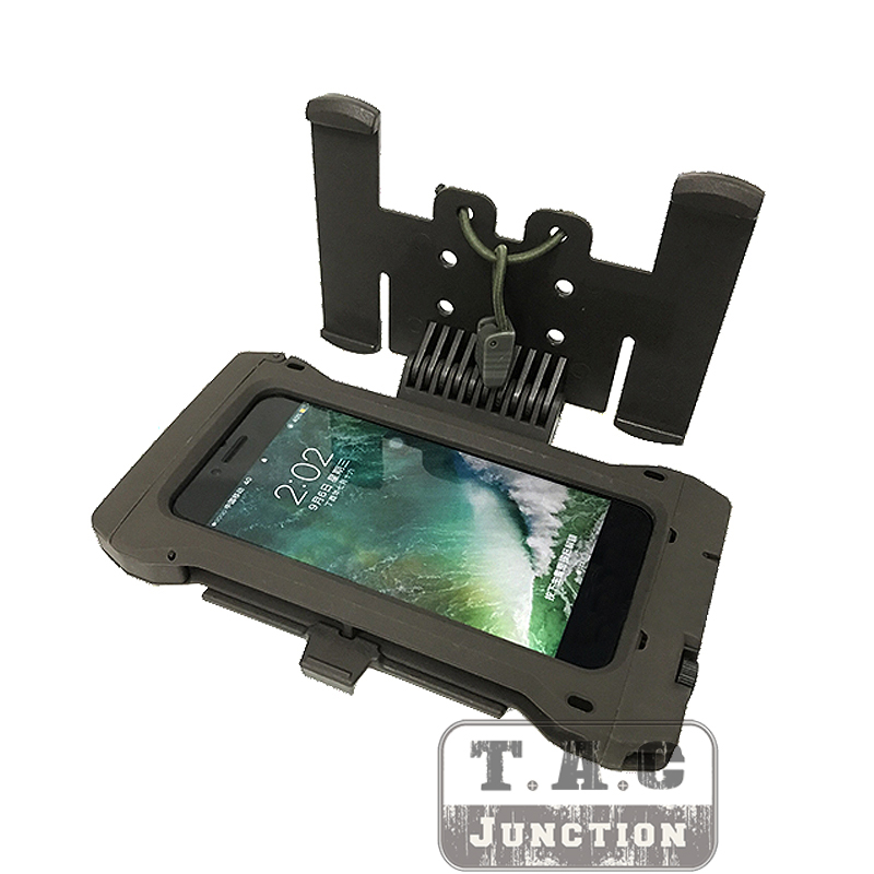 FMA Tactical Phone Case Mobile Pouch For Iphone6 7 8 MOLLE Hunting Gear Holder With MOLLE Holder