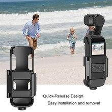 Support de fixation avec vis 1/4 pour DJI Osmo interface de caméra de poche et support de came daction pour trépied Selfie Stick vélo