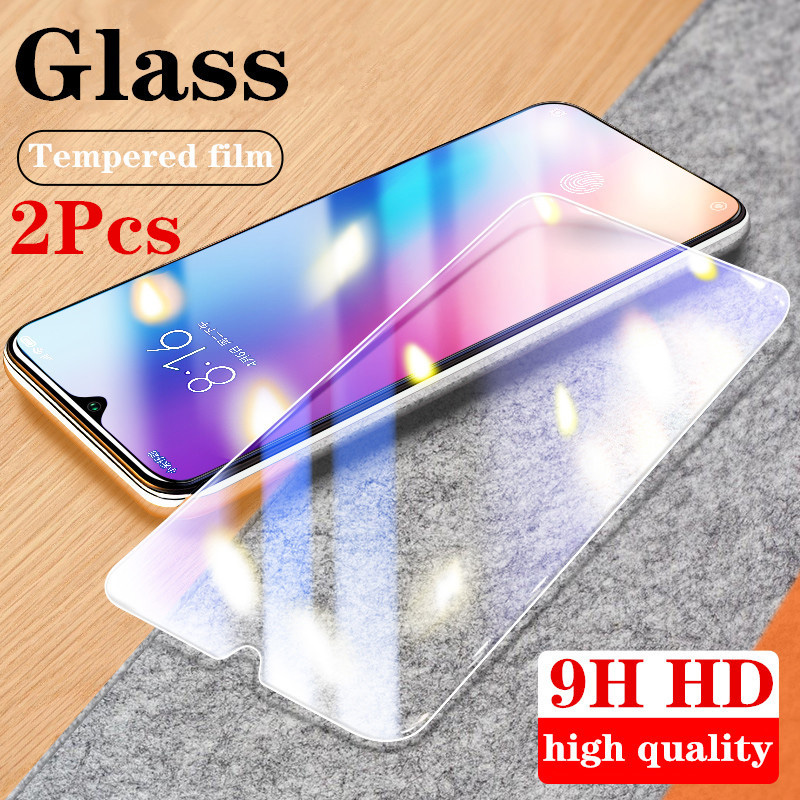 2PCS Film 9H HD Tempered Glass For Xiaomi Mi Mix 2S 2 Note 3 CC9 Screen Protector Protective Film For Xiaomi Mi A3 A2 Lite A1