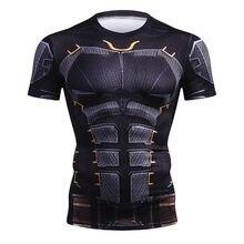 New Summer Fashion Compression T-Shirt Men 3D Printed Comics School Men T Shirt Short Sleeve Brand Shirt Cosplay Tops Tees