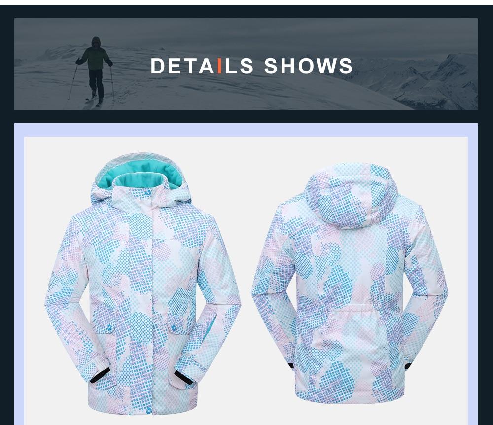 womens winter coats heavy snow jacket ski insulated parka waterproof