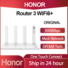 Huawei Honor Router 3 Wifi 6+ 3000Mbps Wireless Router 2.4G/5G Dual-core Through The Wall Child Protection Smart WiFi Router