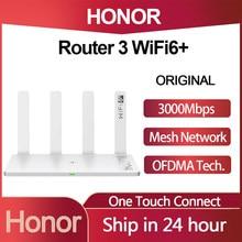 Huawei Honor Router 3 Wifi 6 + 3000Mbps Draadloze Router 2.4G/5G Dual-Core Door de Muur Kind Bescherming Smart Wifi Router