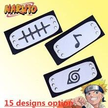 Naruto Stirnband Leaf Village Logo Konoha Uchiha Itachi Kakashi Akatsuki Mitglieder Cosplay Kostüm Zubehör Für Fan der Geschenk