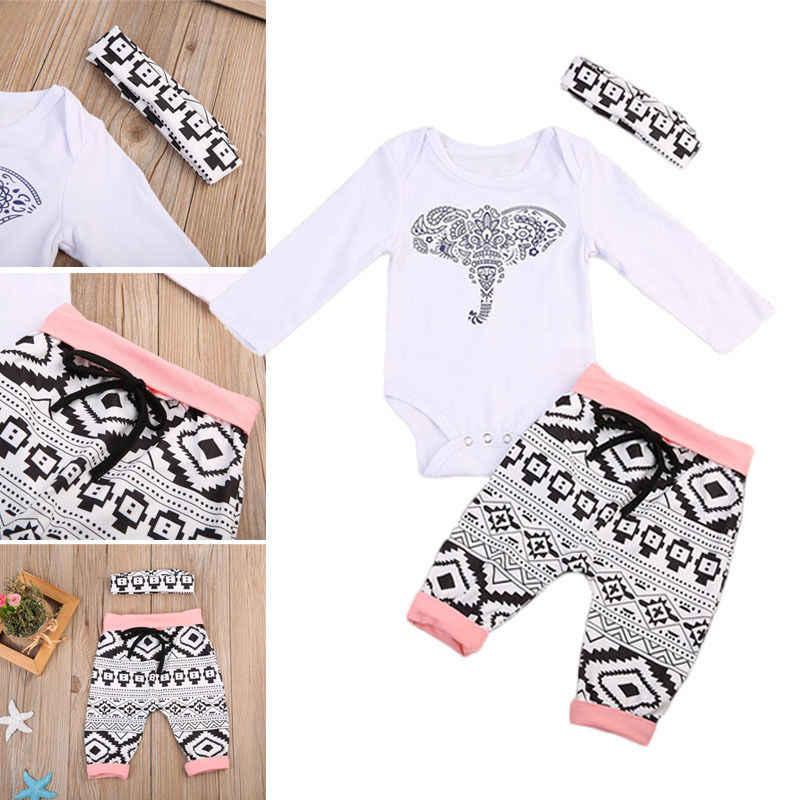 Niños recién nacido bebé niña niño trajes ropa camiseta + Pantalones largos conjunto Reino Unido