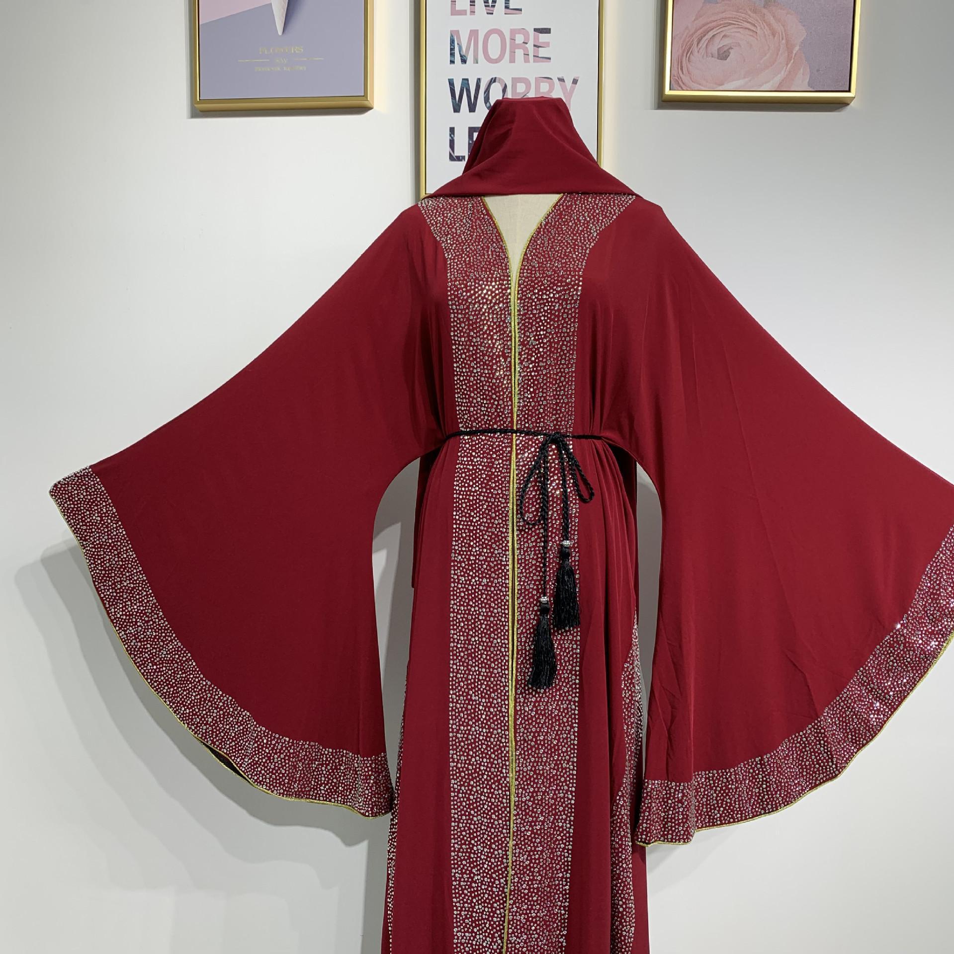 BLING BLACK DUBAI WOMEN FARASHA JILBAB ARABIAN DESIGN FOR WOMEN MS 2019